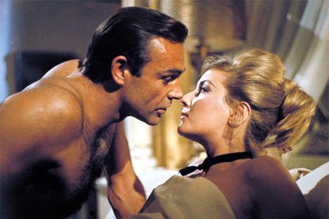 """Una scene di """"Dalla Russia con Amore"""" (Fonte: kinopoisk.ru)"""