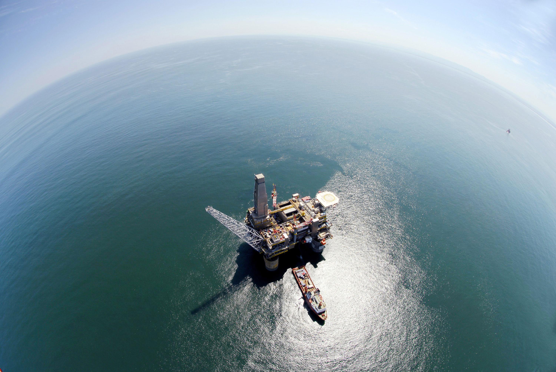 """La piattaforma """"Berkut"""" è diventata il secondo importante progetto russo offshore (Foto: Itar Tass)"""