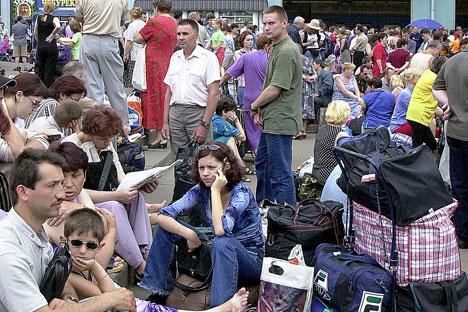 Mosca e San Pietroburgo: sono queste le mete che attraggono buona parte dei migranti (Foto: Itar Tass)