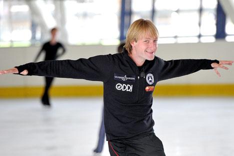 Il campione russo sta recuperando la condizione fisica ottimale (Foto: Itar Tass)