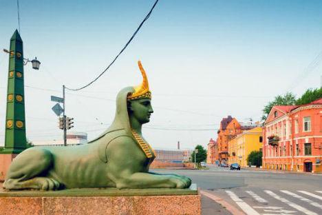 Una delle sfingi che si possono ammirare a San Pietroburgo (Foto: Lori / Legion Media)