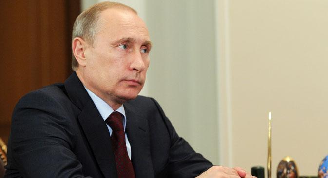 Il Presidente della Federazione Russa Vladimir Putin (Foto: Mikhail Klimentyev / Ria Novosti)