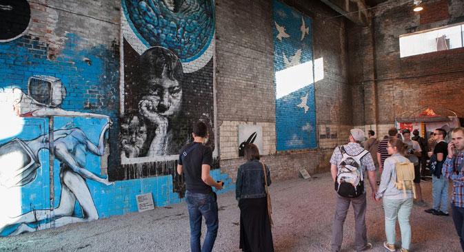 Il museo della Street Art a San Pietroburgo (Foto: Museo Street Art)