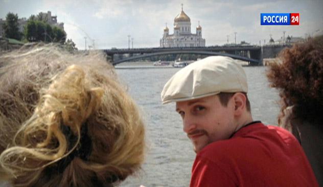 Edward Snowden a Mosca (Foto: AP)
