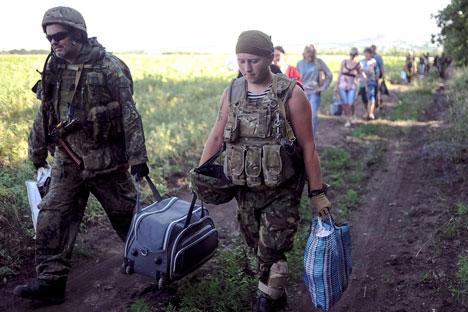 Alcune fonti parlano di oltre 400 soldati ucraini che si sarebbero rivolti alla Russia per chiedere asilo (Foto: Reuters)