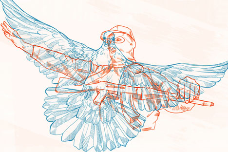 L'illustrazione è di Natalia Mikhaylenko