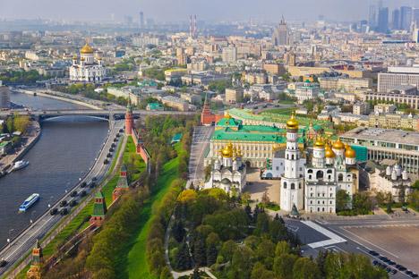 Il Cremlino visto dall'alto (Fot: Shutterstock)