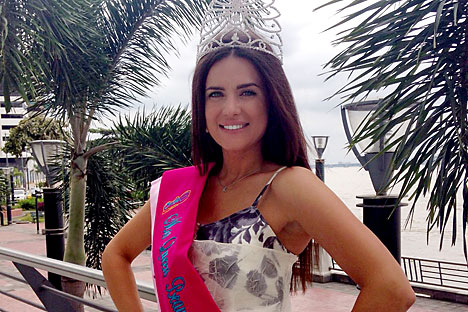 Yulia Ionina, vincitrice della nuova edizione di Miss Mondo (Foto: Instagram)