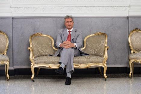 Sergei Razov, ambasciatore della Federazione Russa in Italia (Foto: Alessandro Savi)