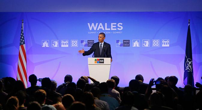 Il presidente Usa Barack Obama al vertice Nato (Foto: Reuters)