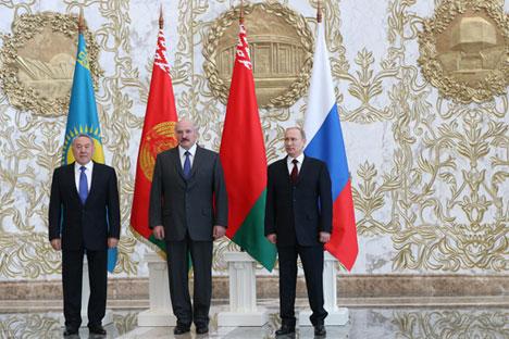 Dell'Unione Economica Eurasiatica attualmente fanno parte Russia, Kazakistan e Bielorussia, ma sono già in corso delle trattative con il Vietnam, Israele e l'India, in una prospettiva a lungo termine (Foto: PhotoXPress)