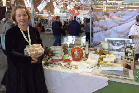 Prodotti russi in mostra al Salone del Gusto di Torino (Foto: Mariella Caruso)