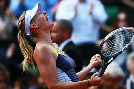 La tennista russa Maria Sharapova (Foto: Anton Denisov / RIA Novosti)