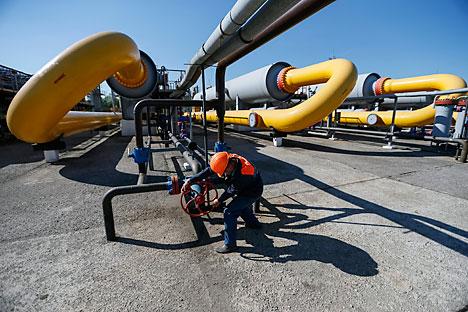 A detta degli esperti, i termini dell'accordo preventivo soddisferebbero pienamente le richieste di Gazprom (Foto: Itar Tass)