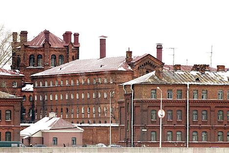 La facciata dell'attuale centro di detenzione preventiva (Foto: Tass)