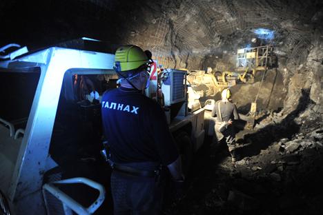 Estrazione di metalli rari (Foto: Tass)