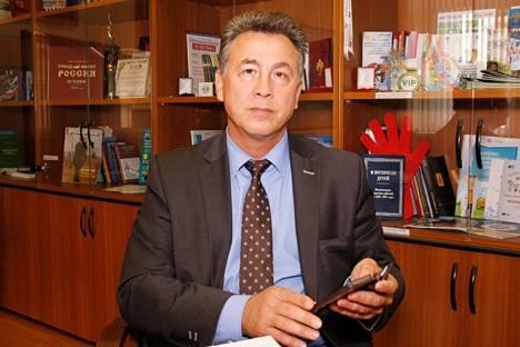 Il viceministro dell'istruzione Venjamin Kaganov (Foto: Nikolai Korolev)
