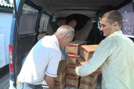 Aiuti umanitari destinati alle popolazioni ucraine (Foto: Daria Andreyeva)