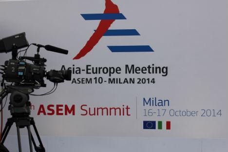 Il vertice Asem di Milano ha riunito quasi 50 leader mondiali (Foto: Evgeny Utkin)