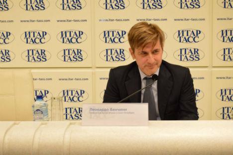 Leonardo Bencini, Console Generale d'Italia a San Pietroburgo (Foto: ufficio stampa)
