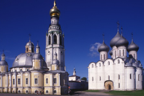 Uno scorcio di Vologda (Foto: William Brumfield)