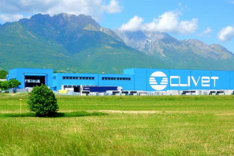 L'attuale Parco Industriale Clivet si estende su una superficie di oltre 50.000 mq. Qui si producono ogni anno oltre 16.000 unità di climatizzazione (Foto: ufficio stampa)