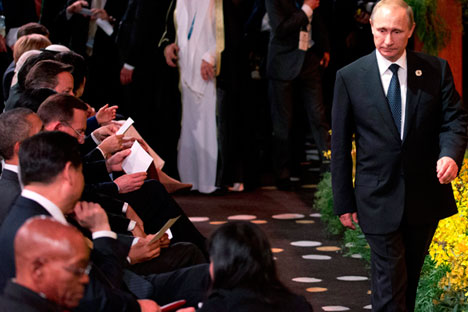 Il capo del Cremlino Vladimir Putin (Foto: Reuters)