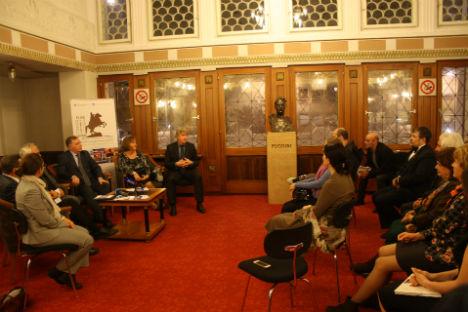 Un momento degli incontri (Foto: ufficio stampa)