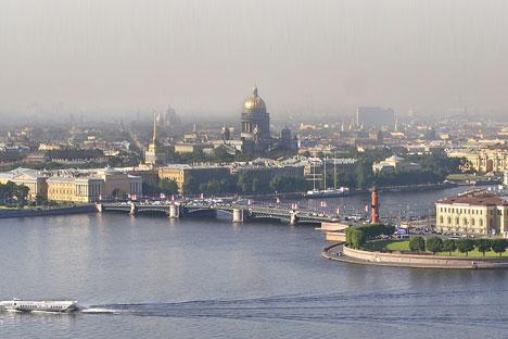 San Pietroburgo vista dall'alto (Foto: Aleksandr Petrosian)