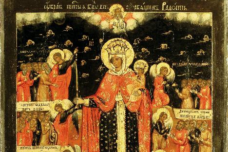 Una delle icone in mostra (Foto: ufficio stampa / www.clponline.it)