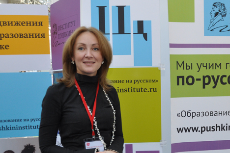 Margarita Ruseckaja, direttrice dell'istituto Pushkin (Foto: Gleb Fedorov)
