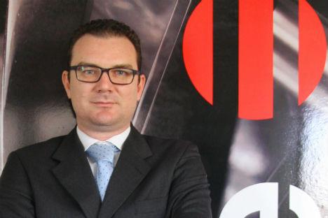 Omar Bertuzzo, direttore commerciale estero per Cielle (Foto: ufficio stampa)