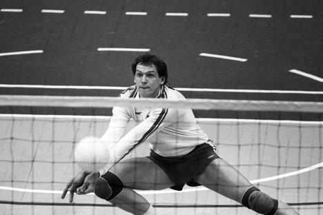 Yuri Panchenko, uno dei più vincenti campioni del volley sovietico (Foto: Igor Utkin / RIA Novosti)