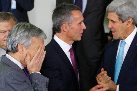 Il due dicembre a Bruxelles i ministri hanno discusso su come mettere in pratica le decisioni prese al vertice in Galles, dove è stato approvato il piano di interventi per garantire la sicurezza (Foto: Reuters)