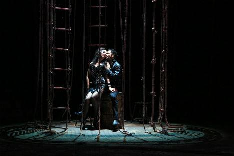 Una scena dello spettacolo al Teatro Bolshoj di Mosca (Foto: Oleg Chernous / Teatro Bolshoj)