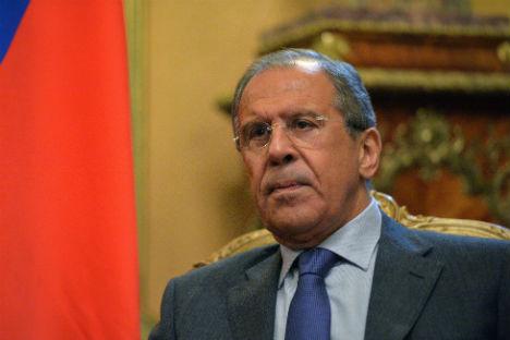 Il ministro russo degli Esteri Sergei Lavrov (Foto: Vladimir Pesnya / Ria Novosti)