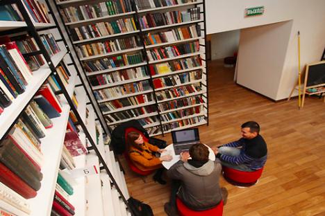 La biblioteca Dostoevskij (Foto: TASS/IDR-Format)