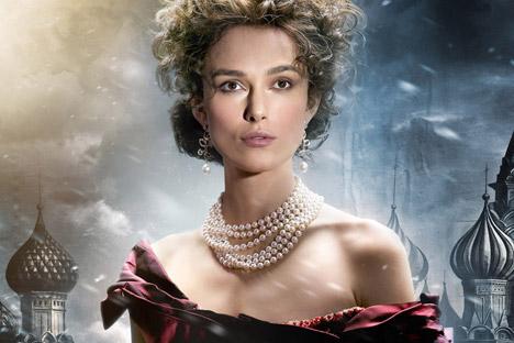 L'attrice KeiraKnightley ha interpretato il ruolo di Anna Karenina nell'omonimo film, omaggio al capolavoro di Tolstoj (Foto: Kinopoisk)