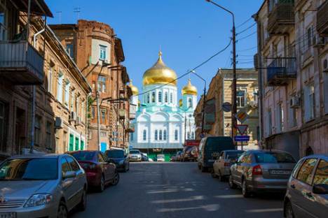 Una veduta di Rostov sul Don (Foto: Pavel Pelevin, strana.ru)