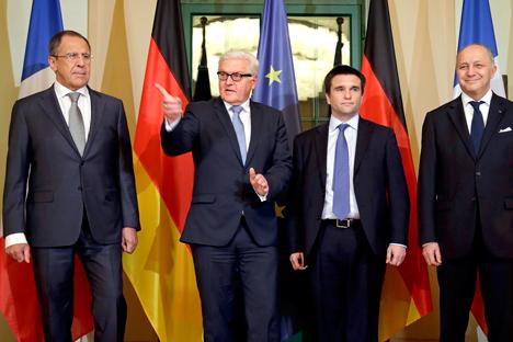 Le trattative di Berlino sulla crisi ucraina non hanno portato a nessuna svolta (Foto: AP)