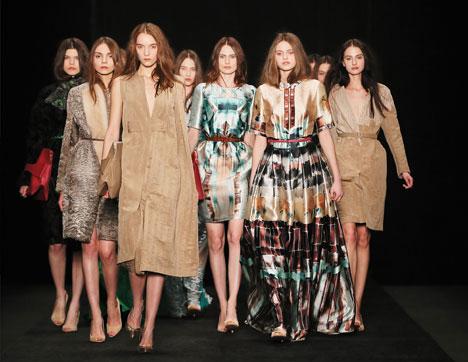 Modelle in passerella alla Settimana della Moda di Mosca (Foto: Getty Images / Fotobank)