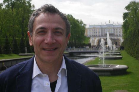 Loris Marcucci, responsabile del mercato russo per la Ceramica Sant'Agostino (Foto: ufficio stampa)