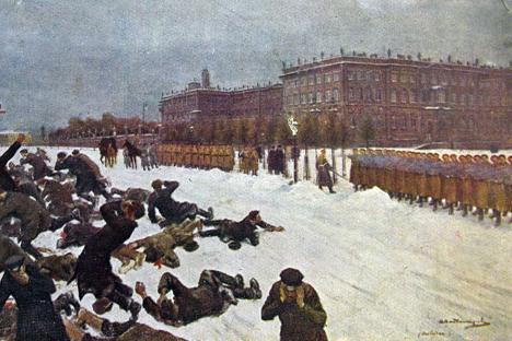 """Questo giorno entrò nella storia russa sotto il nome di """"Domenica di sangue"""" (Foto: ufficio stampa)"""