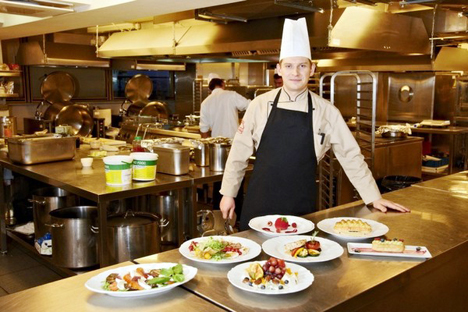 Konstantin Markidin, capo cuoco della cucina del Cremlino (Foto: restorante.ru)