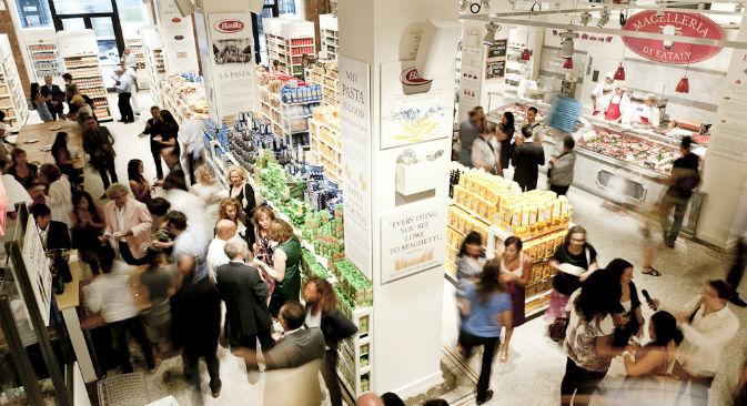 Secondo le parole di Luca Baffigo di Eatitaly, il mercato Russo è in forte crescita e la domanda per l'enogastronomia italiana corre alla stessa velocità (Foto: ufficio stampa)
