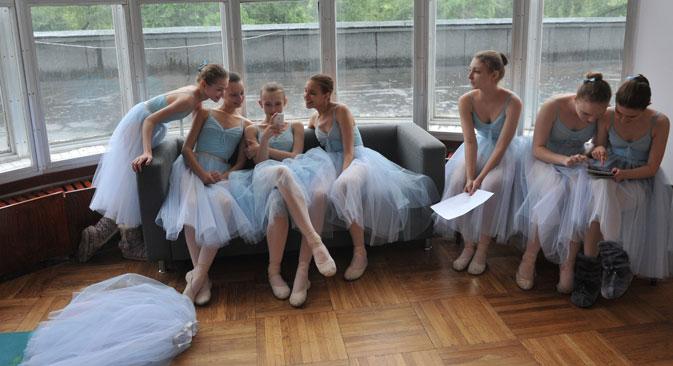 Una scuola di danza (Foto: Artem Zhitenev / RIA Novosti)