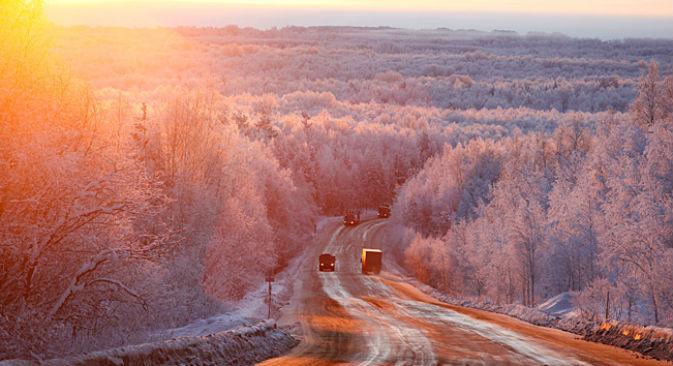 Stazione meteorologica abbandonata nell'isola di Hayes, nel Circolo Polare Artico (Foto: Ria Novosti)