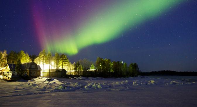 Giochi di luci in cielo durante un'aurora boreale (Foto: Lori / Legion Media)