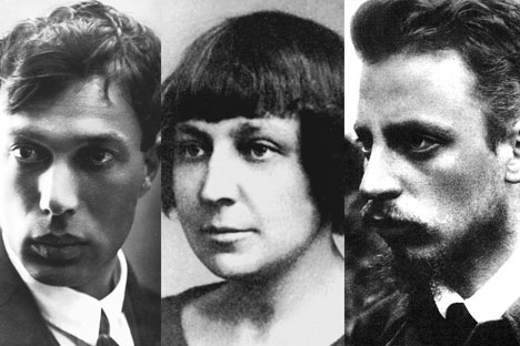 Pasternak, Cvetaeva e Rilke (Foto: ArtImages/Vostock-Photo)