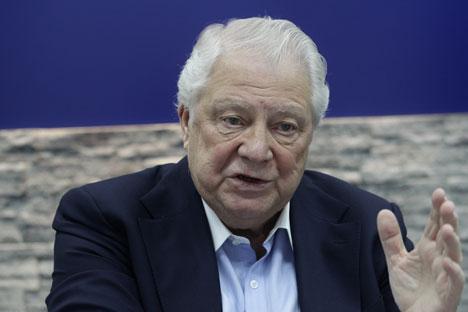 Vitalij Smirnov, membro del Comitato Olimpico Internazionale (Foto: Olesya Kurpyaeva / Rossiyskaya Gazeta)